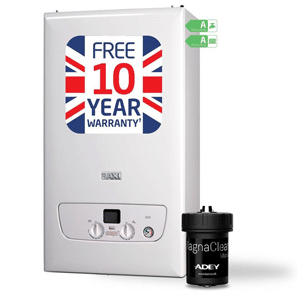 baxi boiler 800 Compact Adey Magnaclean Micro 2 magnetic system filter